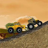 Игры для мальчиков трактора с прицепами